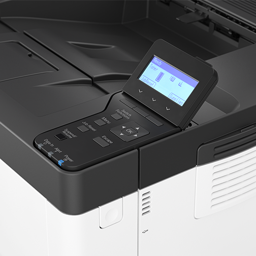 P 502 - Office Printer - Detail View
